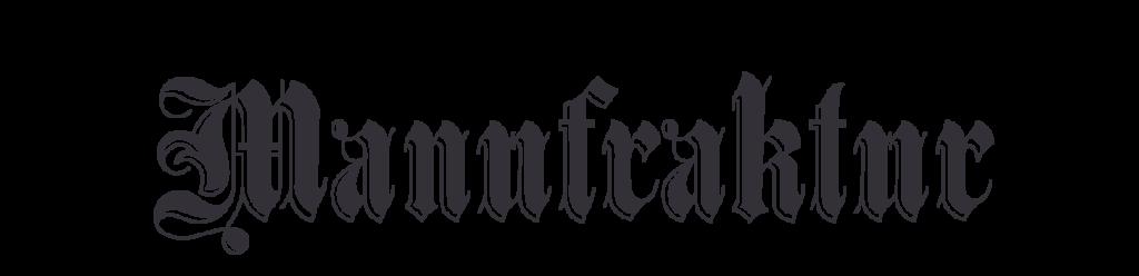 Manufraktur Logo 2010-2018