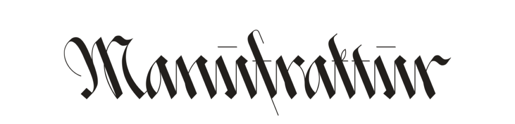 Manufraktur Logo 2019