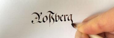 Rossberg Schreiben