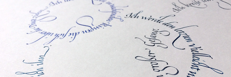 Rilke Gedicht Italics Titel