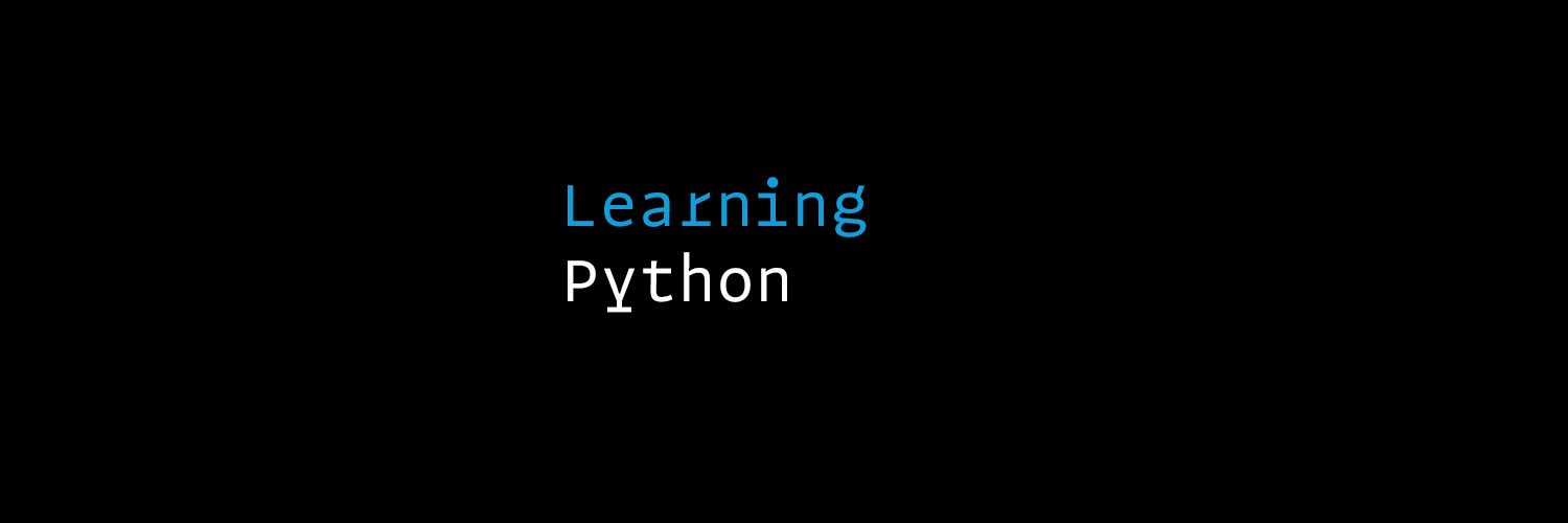 Learning Python