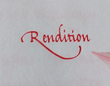Rendition Titel