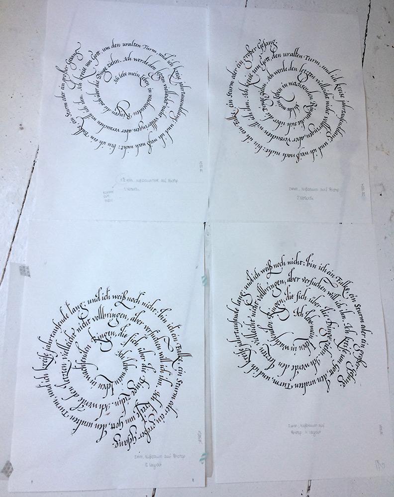 Rilke Leben2 Skizzen