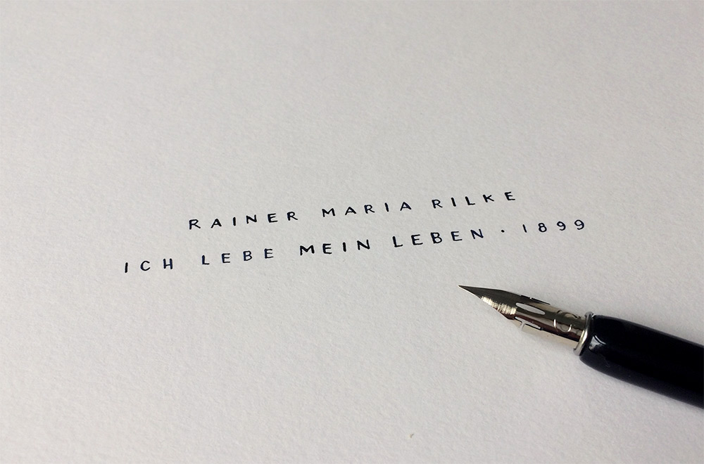 Rilke Leben2 Beschriftung