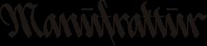 Manufraktur Logo