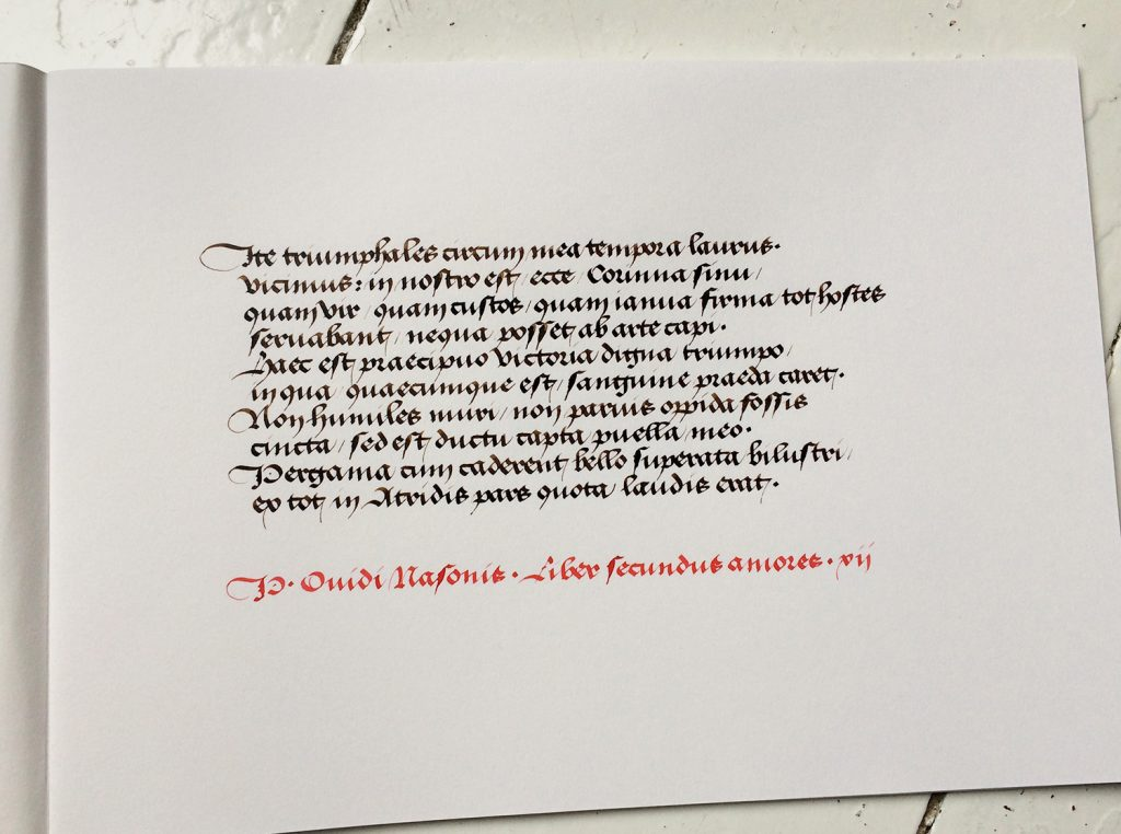 BoldBastarda Ovid Sketchbook